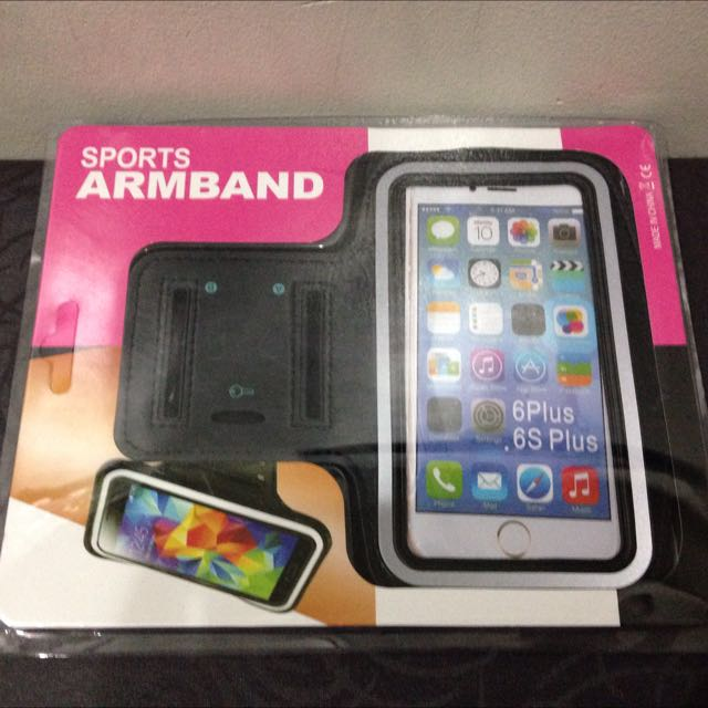 Sports Armband For Iphone 6 Plus Or Similar Size Mobile Phone
