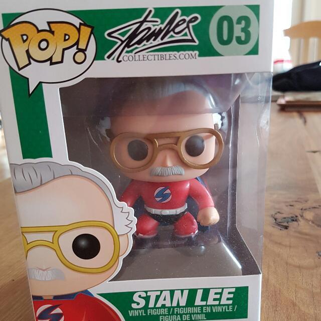 Stan Lee Pop Vinyl