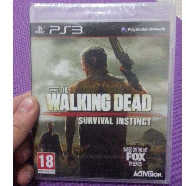 The Walking Dead Survival Instinct PS3 New&Sealed