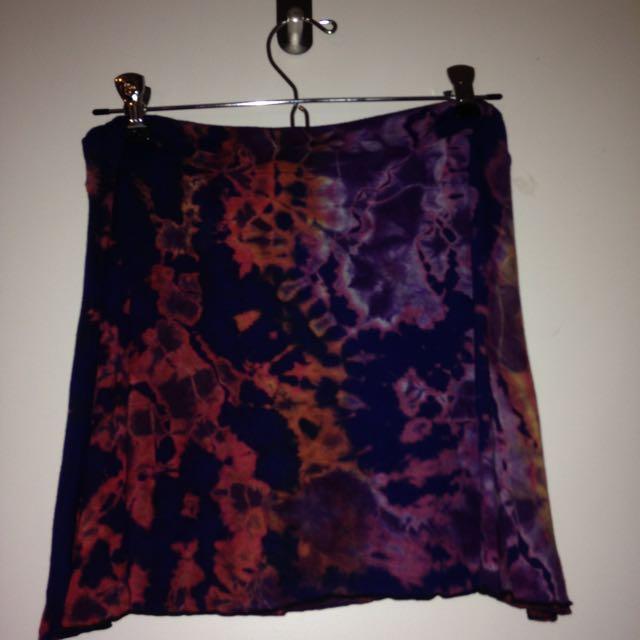 Tie Die Skirt