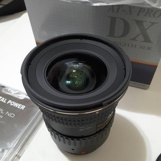 暫售 待面交Tokina AT-X 11-16mm F2.8 PRO DX II  平輸 for canon ( T116)