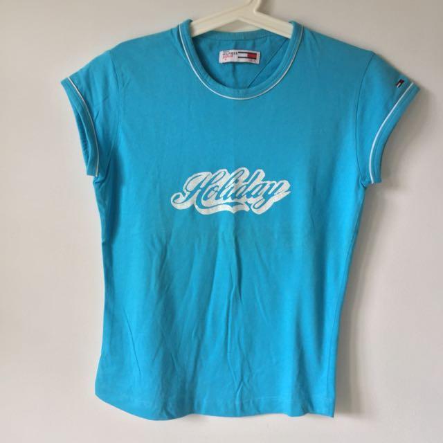 Tommy Hilfiger Blue Shirt