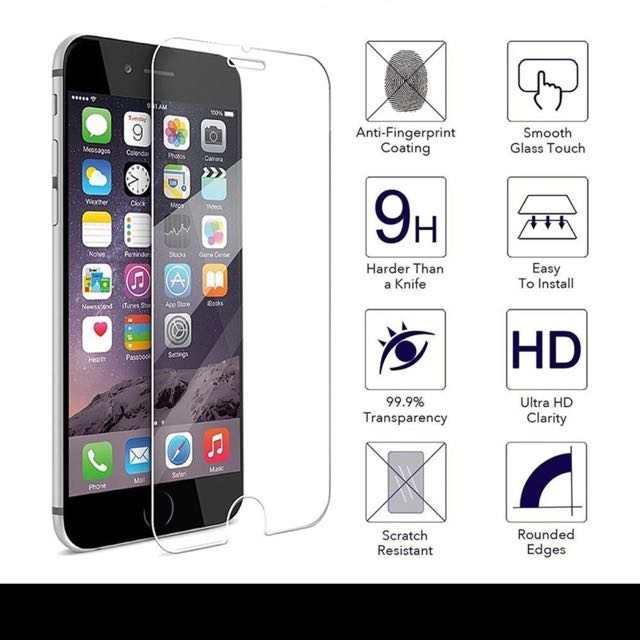 (sold Out )TOP Quality 0.3mm Screen Tempered Glass For iPhone 7 & 7 Plus Screen Protector Film 9H Explosion Proof