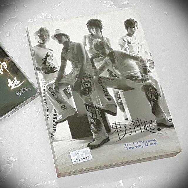 TVXQ The Way U Are: The 2nd Storybook (CD + VCD)