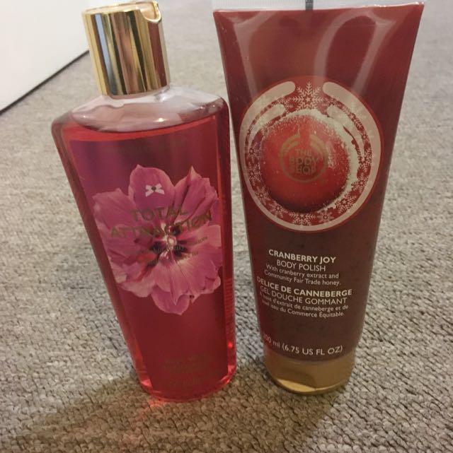Vs And Body Shop Body Wash
