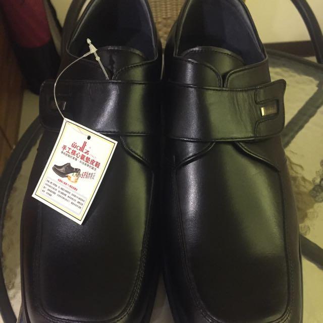 義大利Waitz氣墊皮鞋