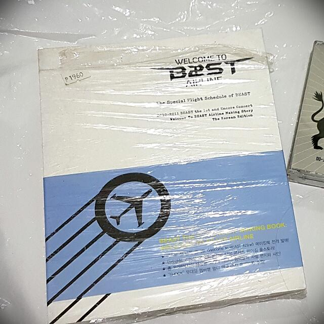 Welcome to B2ST Airline Making PB + DVD