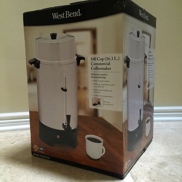 WestBend 100 Cup Coffeemaker