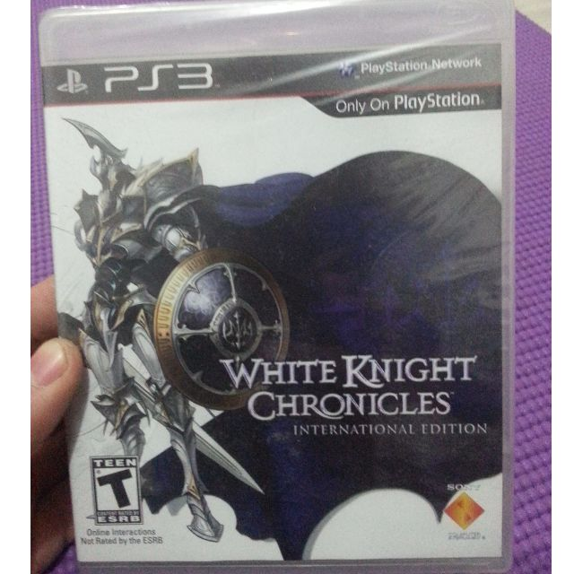 White Knight Chronicles International Edition PS3 New&Sealed