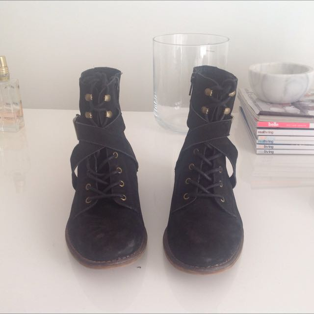 Windsor Smith Leather Boots Size 6
