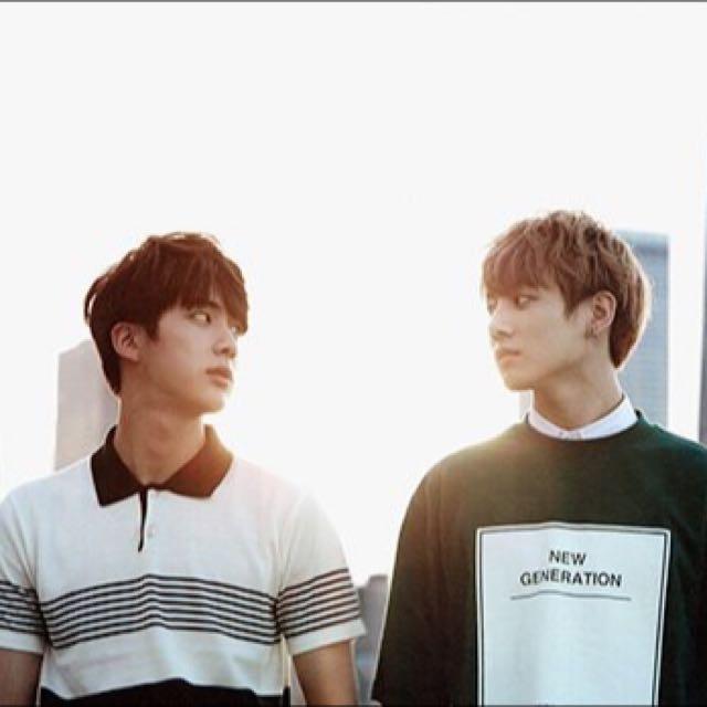 WTB/LF BTS Jin Jungkook Jimin jinkook jinmin photocards