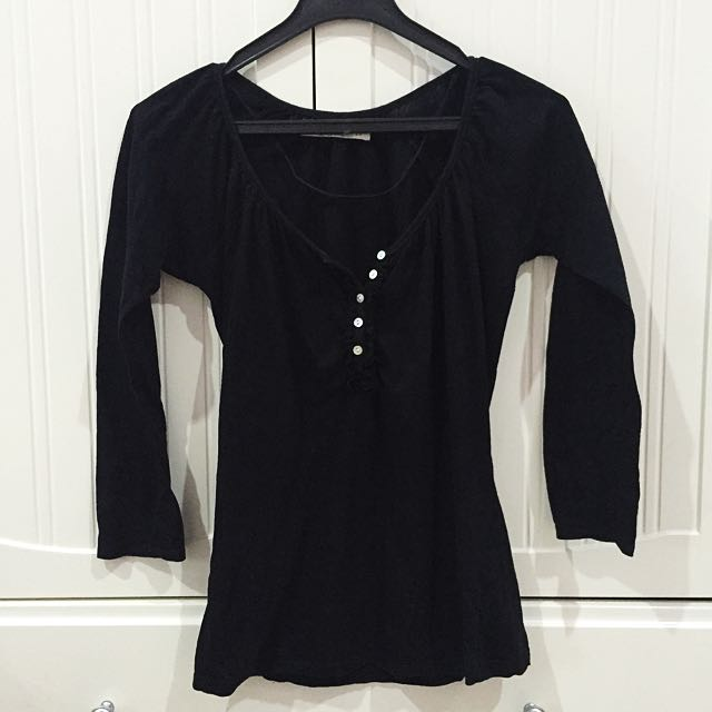 Zara Black Blouse