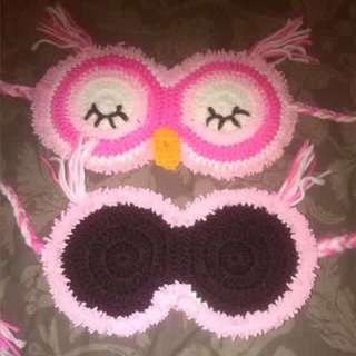 Sleepy Owl Sleep Mask
