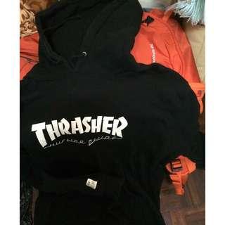 HUF X THRASHER PULLOVER HOODIE