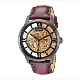 🚚 Fossil Me3098機械錶 時尚黑