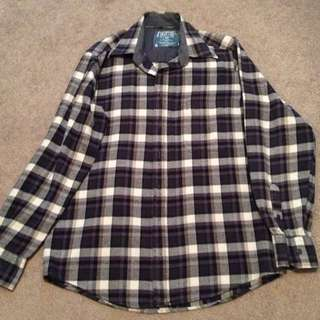 Unisex Plaid Shirt