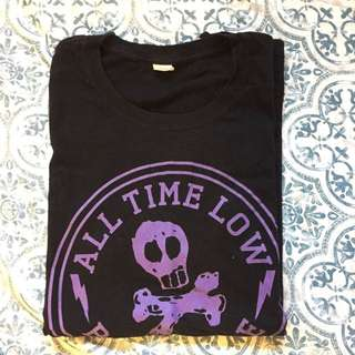 all time low band tee