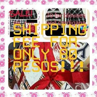 80 Pesos For Shipping Fee :)