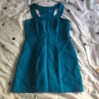 Pilgrim Teal Dress - Size 10