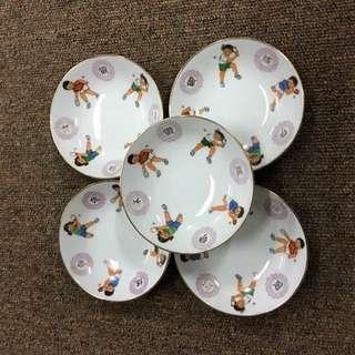 Vintage Ping Pong Saucer