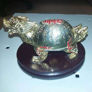 Imperial Dragon Tortoise of Longevity (Brass Material)