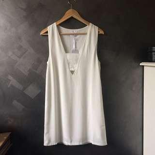 Ottomode White Dress
