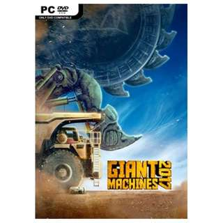 Giant Machines 2017 PC Game || 1 DVD