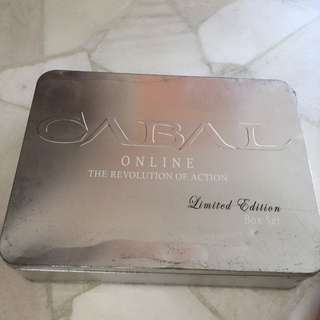 CABAL ONLINE ( The Revolution Of Action ) Limteh Edition Box Set