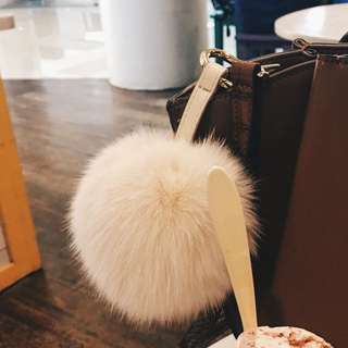Fluffy/Fur Keychain