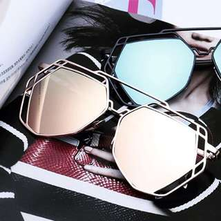Korean Heptagon Shades