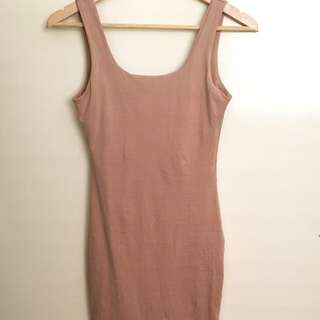 ❗️REDUCED❗️Nude Body Fit Dress
