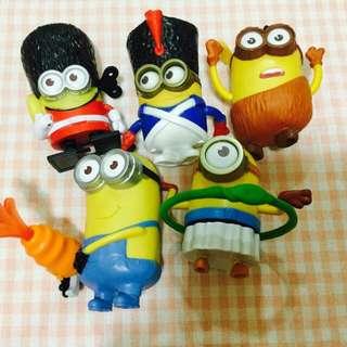 (免費贈送)[全新] Minions 小小兵玩具