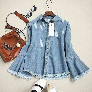 Women Denim Shirt
