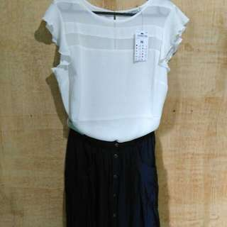 Terranova blouse & gonna skirt