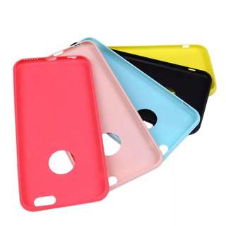 Soft Silicone Matte Cases Suitable for iPhone 6/6s
