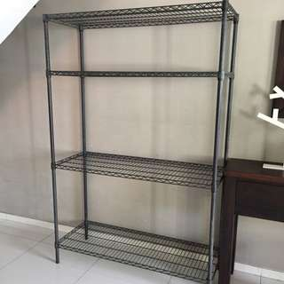 Grey Metal Shelf