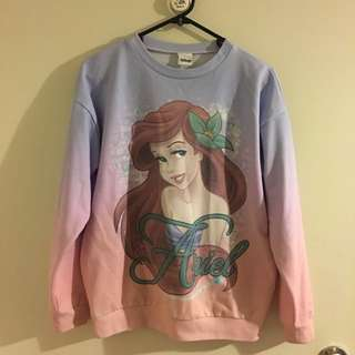 Disney sweatshirt size 8