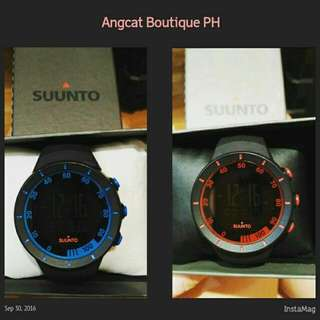 Suunto rubber watch