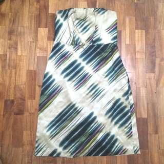 The Limited Patterned Tube Dress