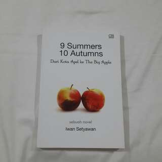 9 Summers 10 Autumns by Iwan Setiawan