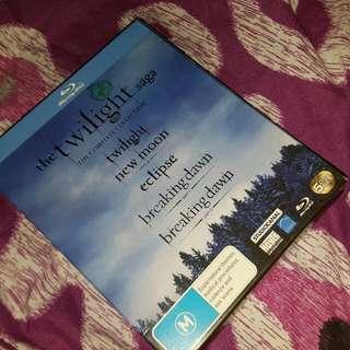 PENDING The Twilight Saga Blu-ray Collection