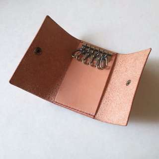 Solid Brass Key Pouch