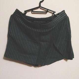 GU 直條紋 褲裙