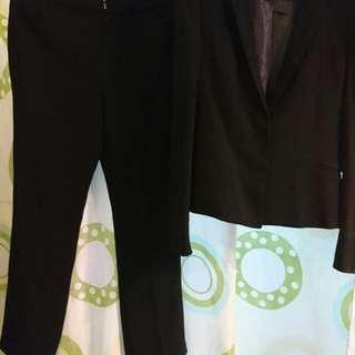 G2000 OL .西裝外套 + 西褲