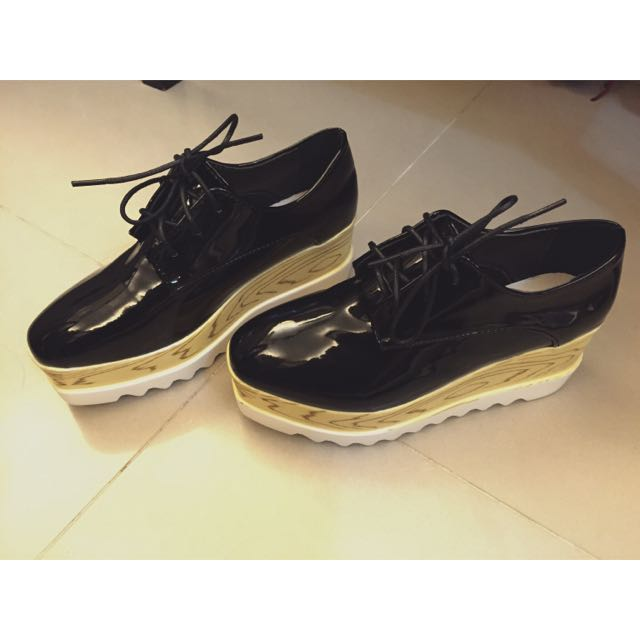 💖 韓版厚底鬆糕鞋