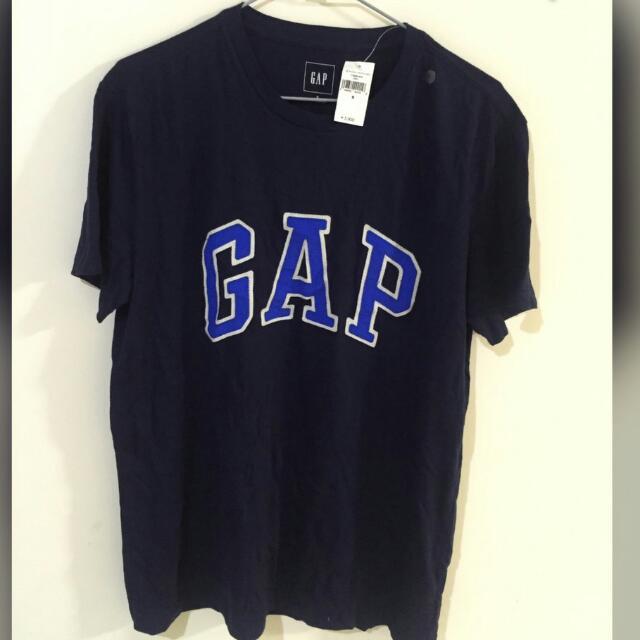 日本帶回   GAP藍色上衣 (男生)