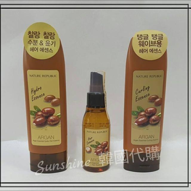 必賣商品  Nature Republic 摩洛哥堅果精華護髮素 【免沖洗】