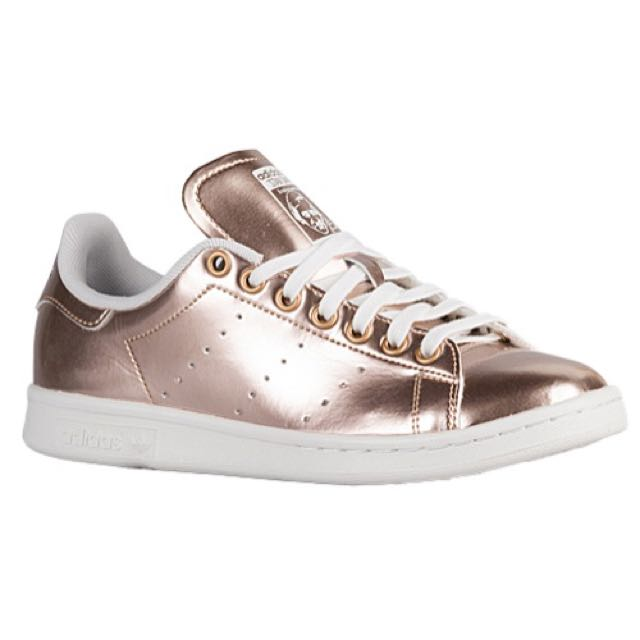 Adidas Women s Stan Smith Copper Rose Gold (only Exclusive To ... f7589d780