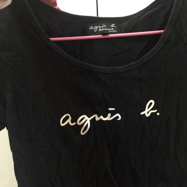 Agnes b 短袖上衣