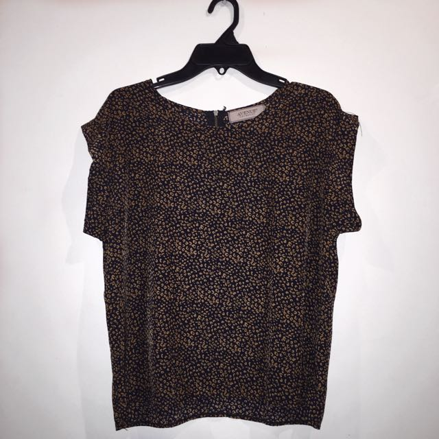 AVENUE Speckled Top